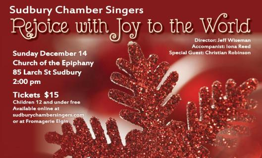 rejoice concert poster